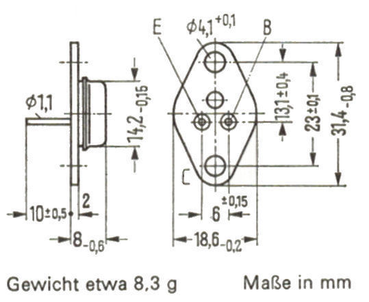 transistor ad162 datasheet